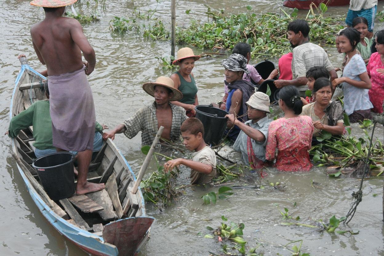De overheid lijkt bij de nazorg echter weinig te hebben geleerd van cycloon Nargis uit 2008. Foto: Flickr/cc