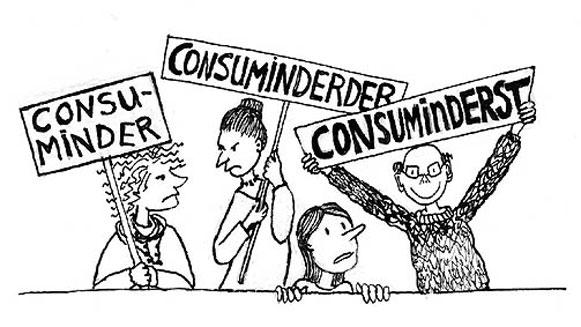 Consuminderen is de oplossing voor ongelijkheid