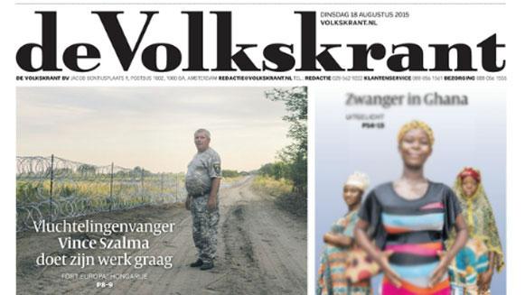 De media hebben duidelijk veel moeite met het verschil tussen migranten en vluchtelingen. Beeld: 18 augustus 2015
