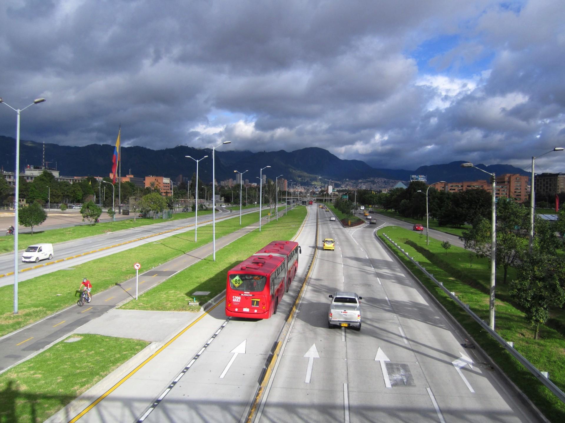 BusTransMilenio Bogotá Colombia