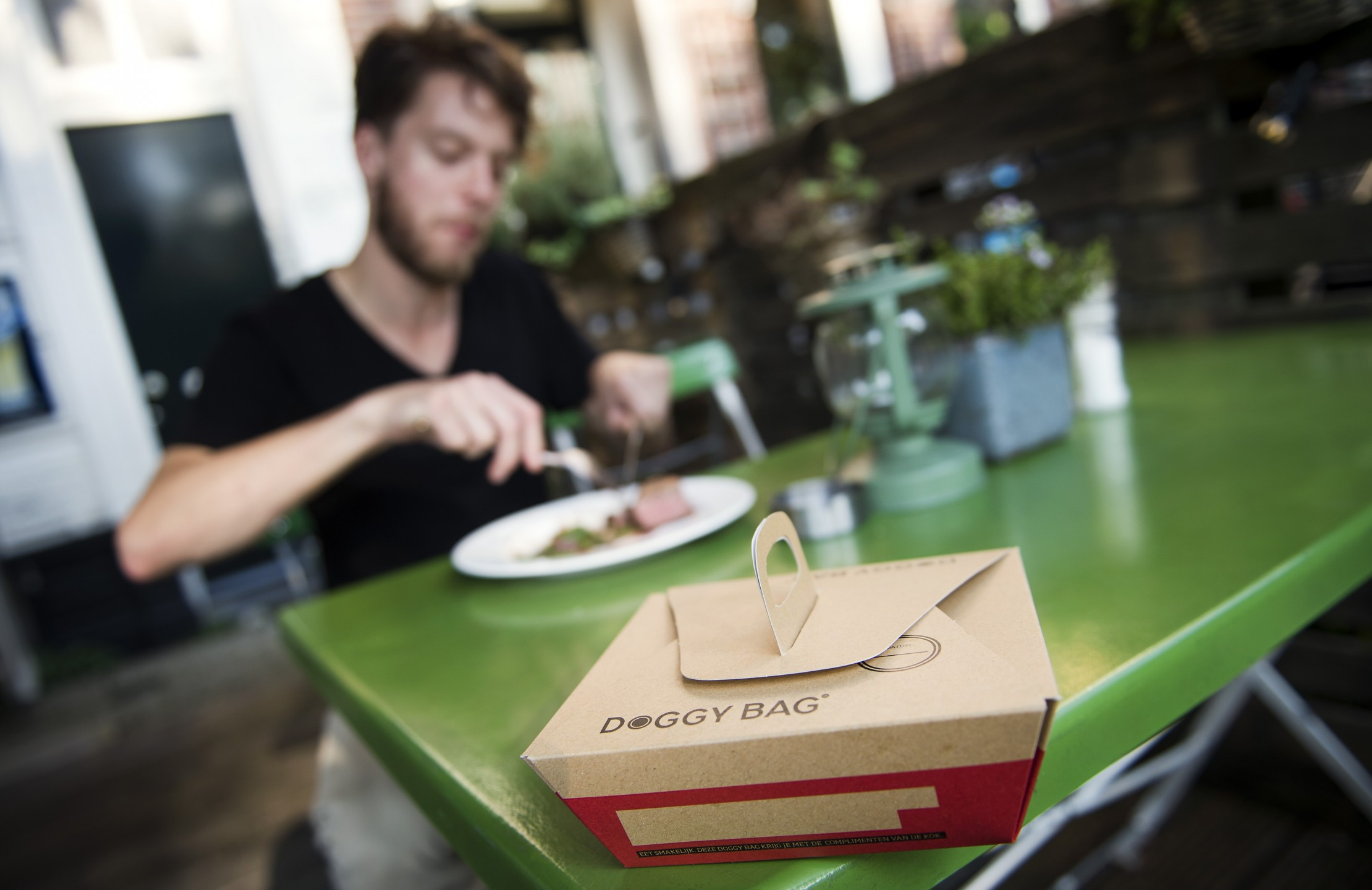 Nog steeds is de doggybag een taboe in Nederland