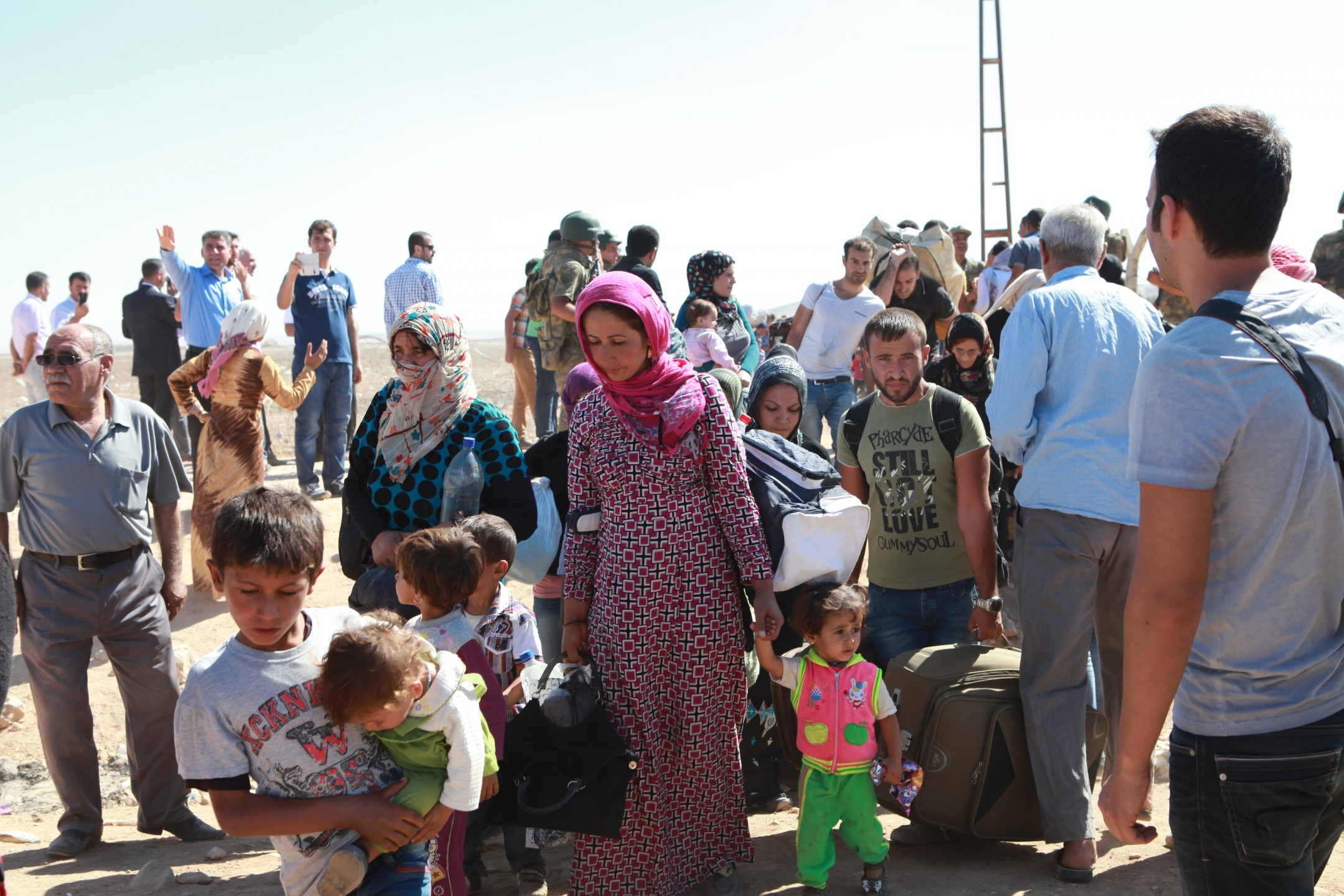 migranten vluchtelingen Europa migratie