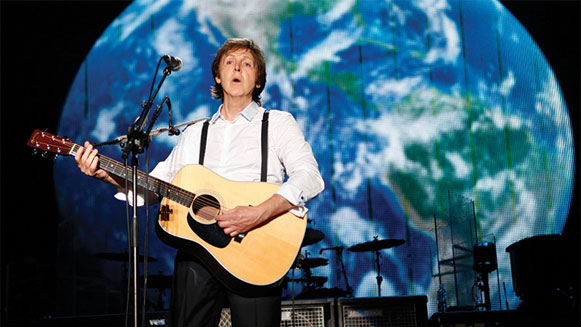 Paul McCartney Love Song to the Earth