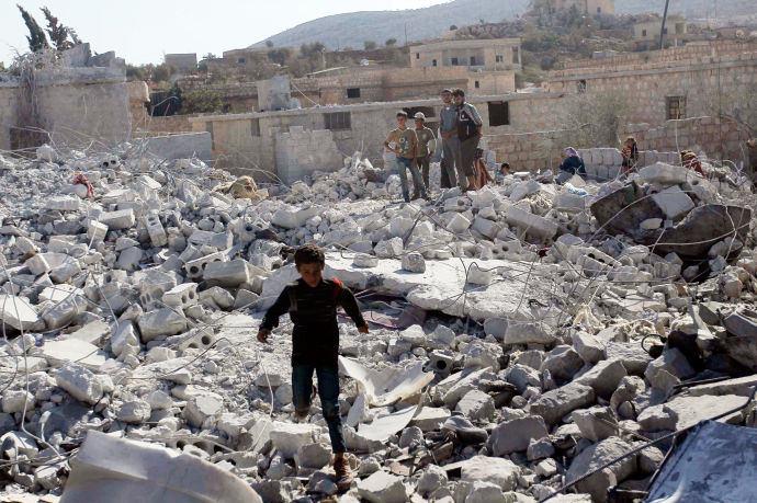 Syrië IS bombardementen
