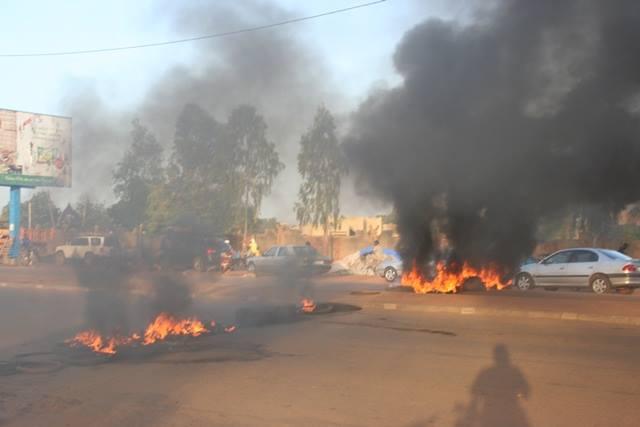 Verzet tegen de coupplegers in Ouagadougou