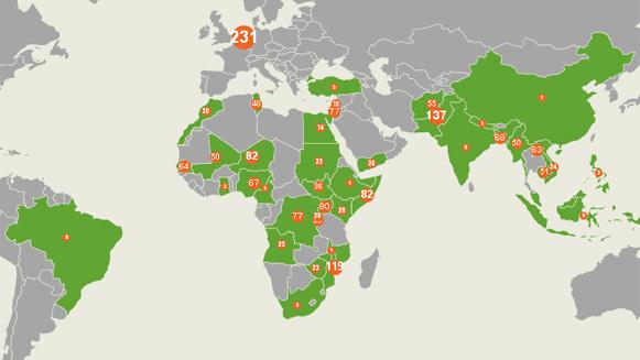 Vernieuwde open data tool Oxfam Novib bevat foto's en video's
