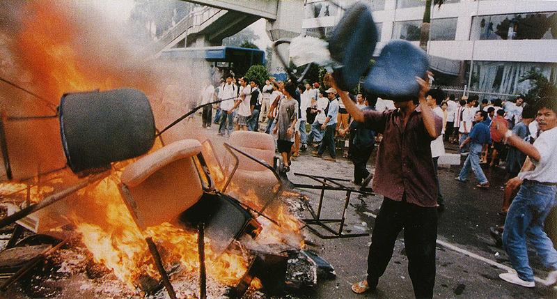 Foto: Jakarta riot 1998