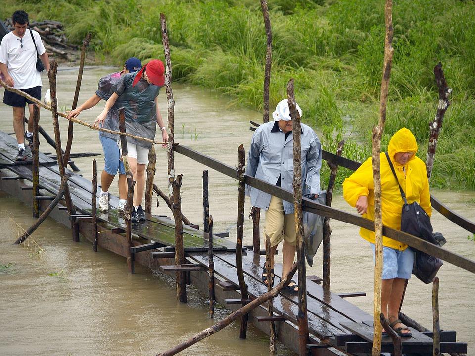 Toeristen Amazone