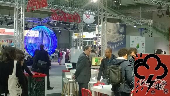 Coca-Cola stand, Solutions 21, Parijs
