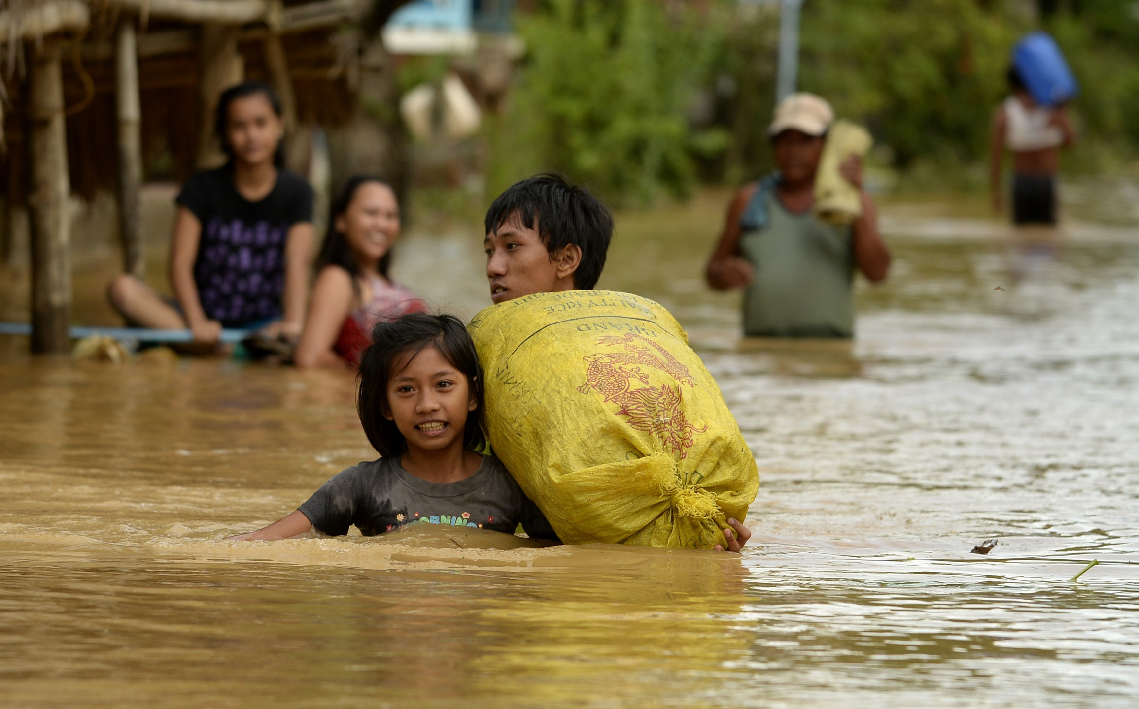 Overstroming Filipijnen na typhoon Kuppo. Foto: Flickr (cc)