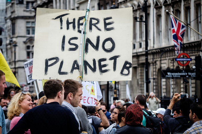Climate march 21-09-2014, London - Garry Knight