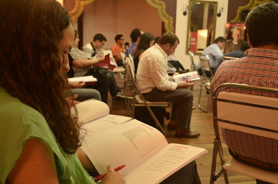 Studeren, studie, conferentie, educatie