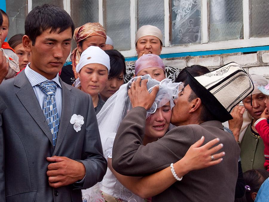 Kirgizische bruid