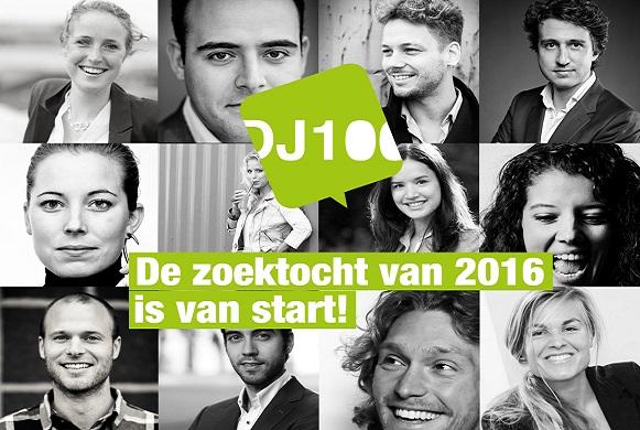 DJ100 zoektocht 2016 is van start