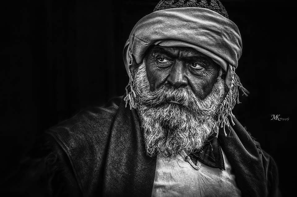 Portret op The Publisher, gemaakt door Mahmod Kharrat ©