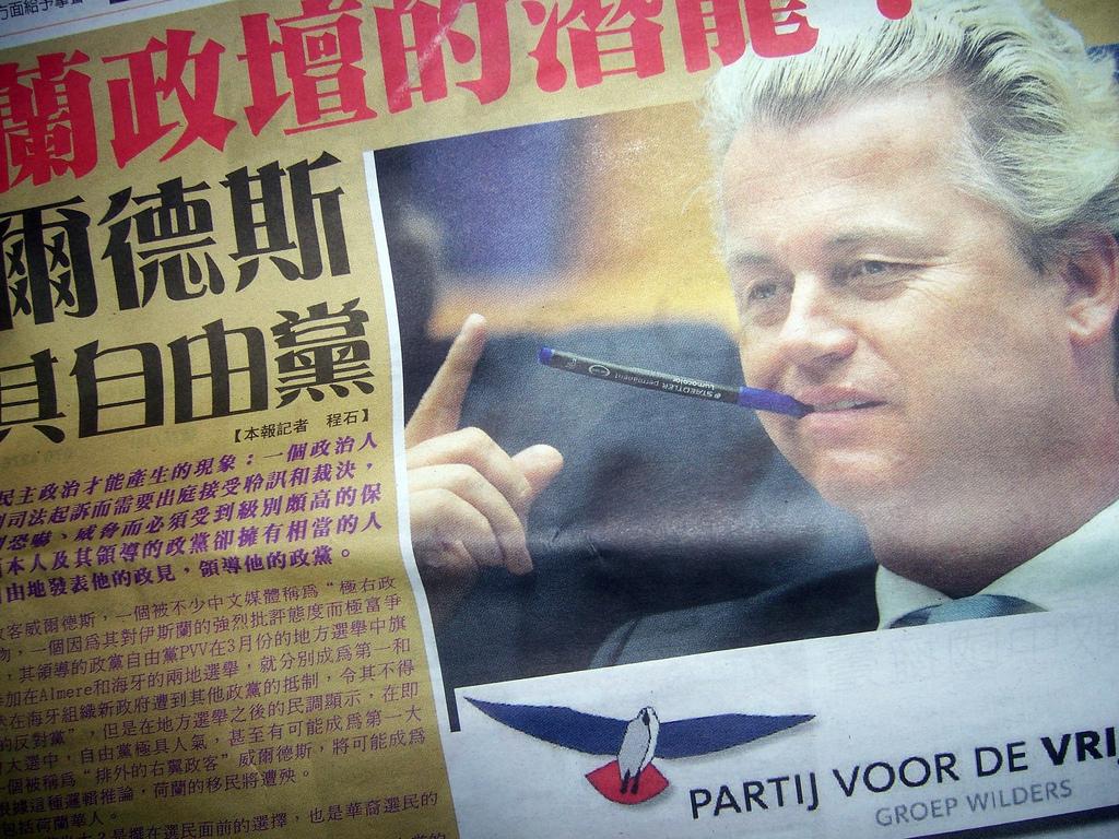 Geert Wilders in de media