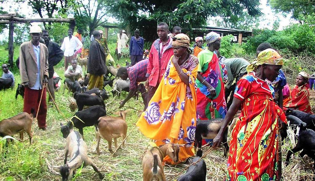 Vrouwen in Burundi