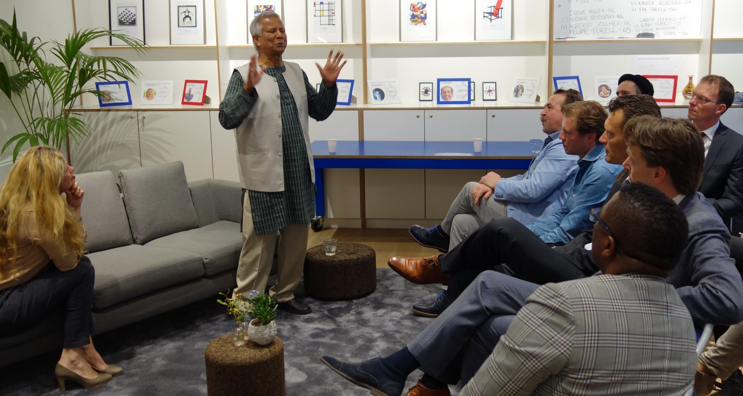 Muhammad Yunus bij Social Enterprise NL