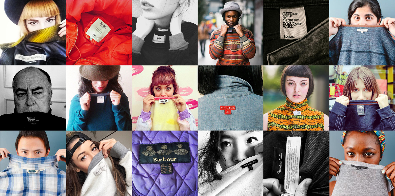 Van 18 tot 24 april is het 'Fashion Revolution Week'