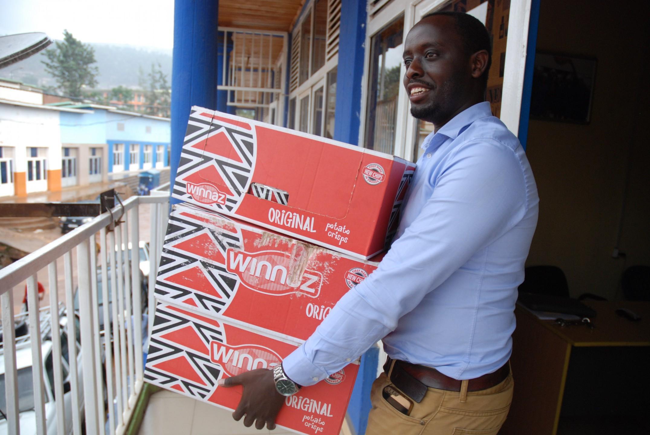 De eerste chipsmakers van Rwanda