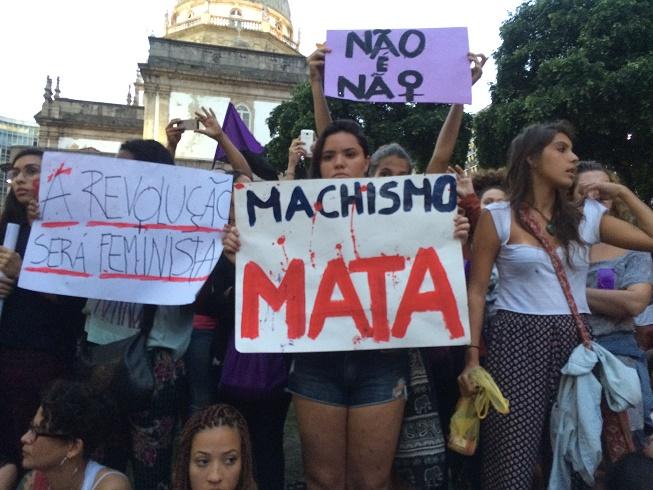 Vrouwen protesteren