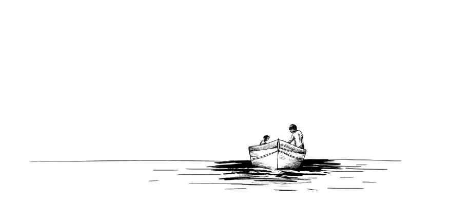 Stripverhaal visserijconflicten in Sri Lanka