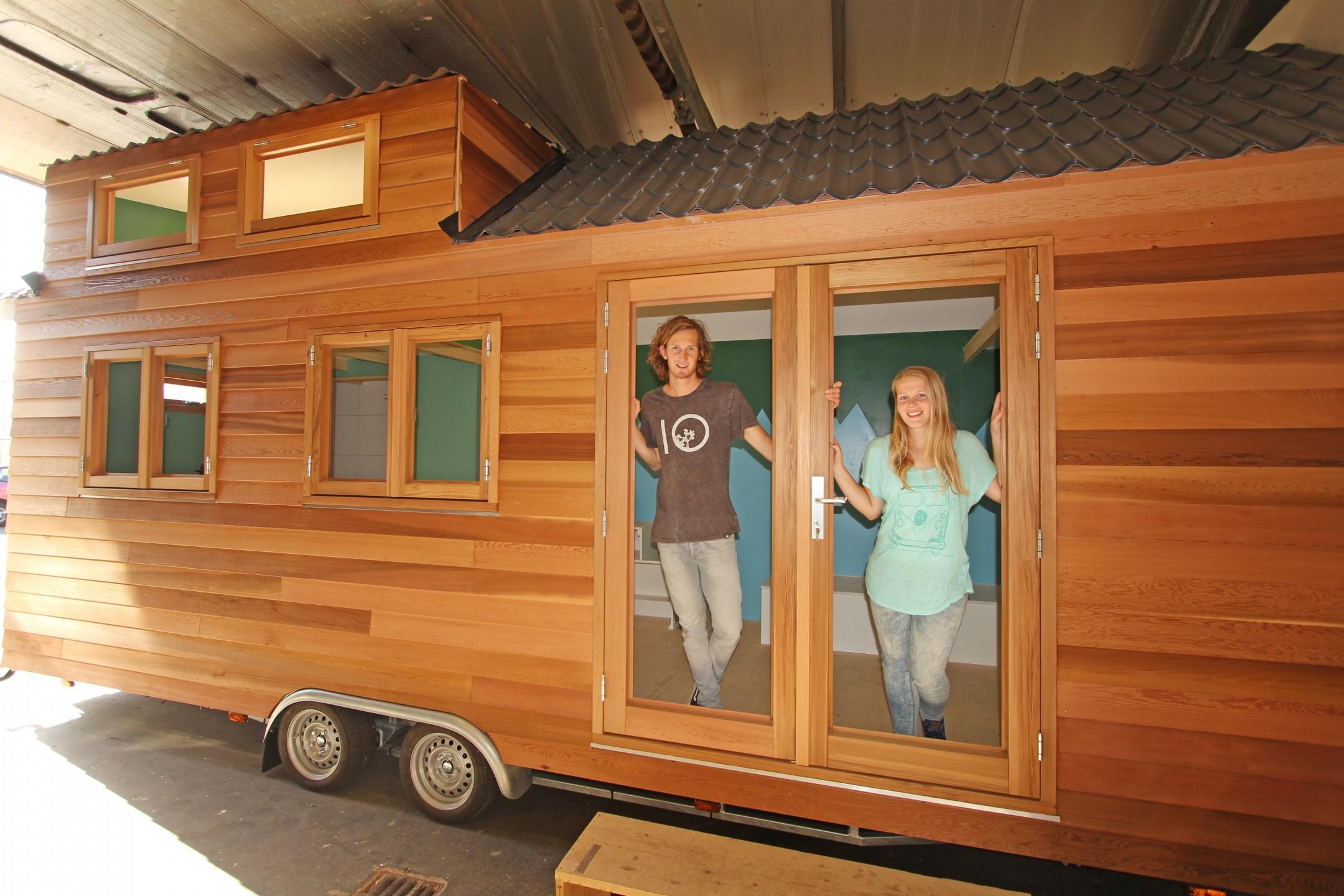 Zelfvoorzienend leven in een minihuisje oneworld for Tiny house movement nederland