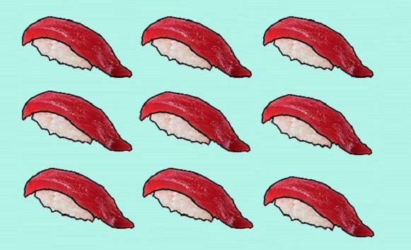 Van tonijn naar sushi