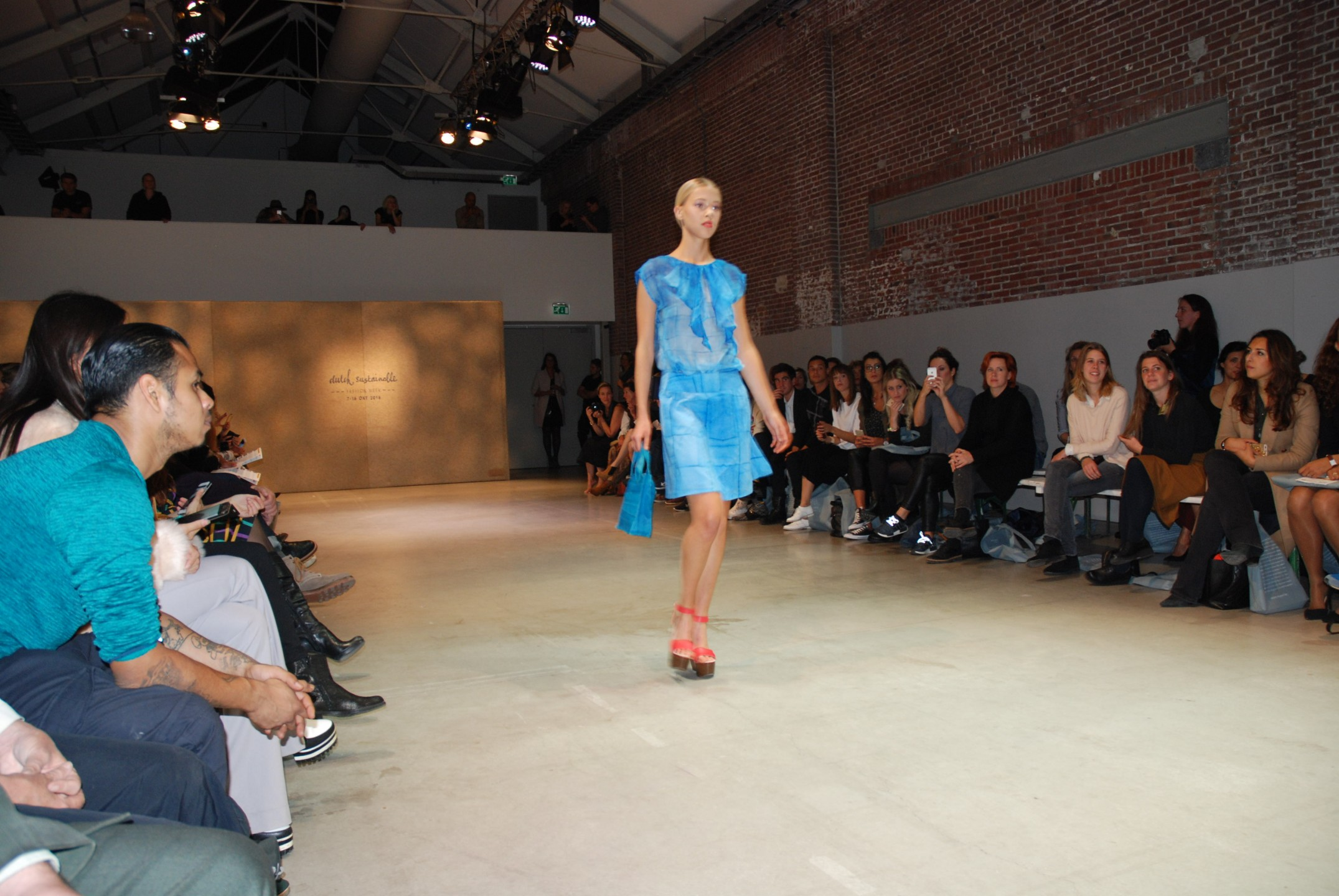 Zowel lof als kritiek tijdens de Dutch Sustainable Fashion Show
