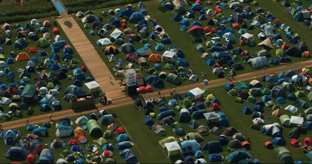 Mysteryland ging dit jaar voor een schone, groene camping.