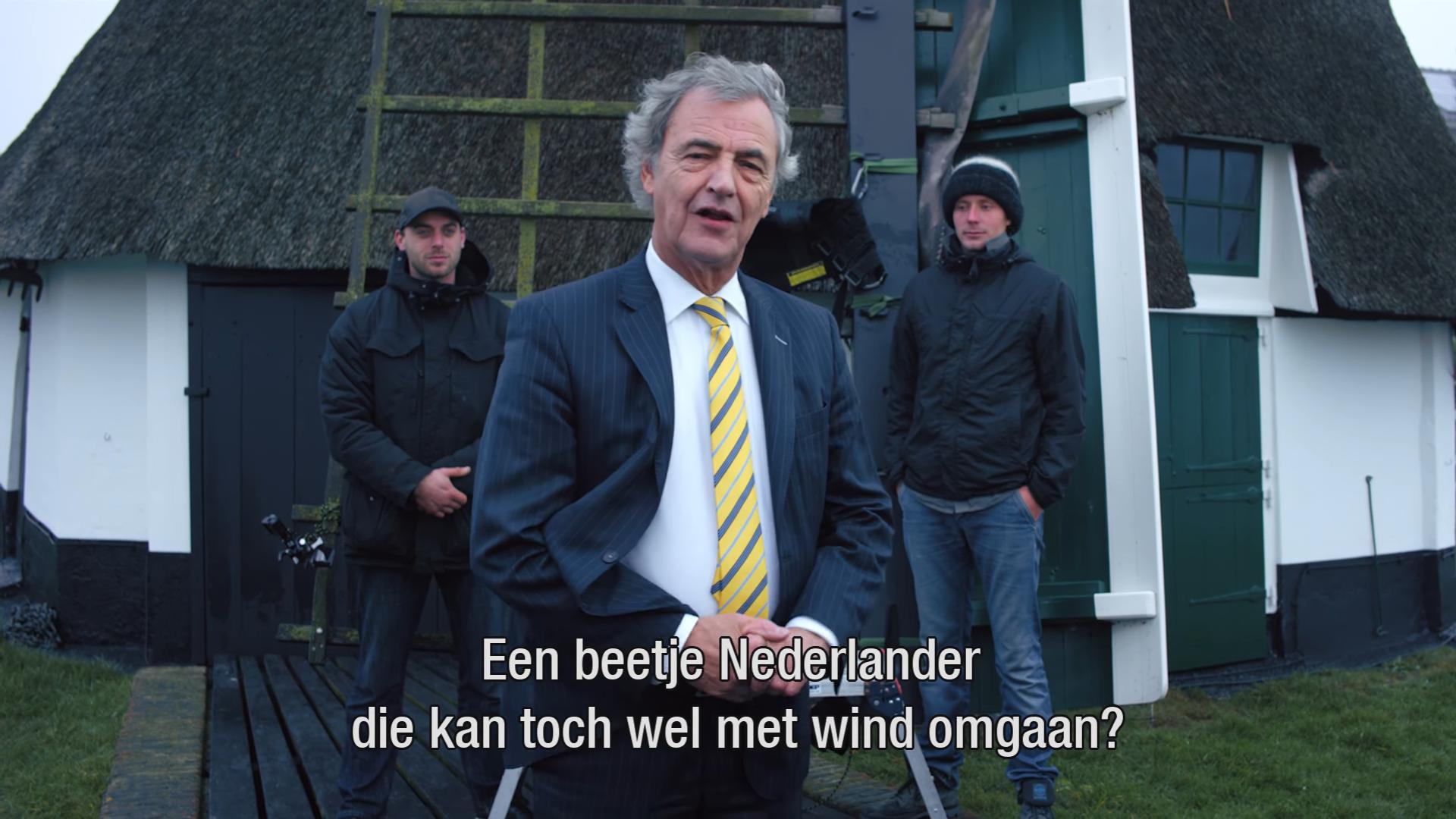 President-directeur NS stunt in videoboodschap