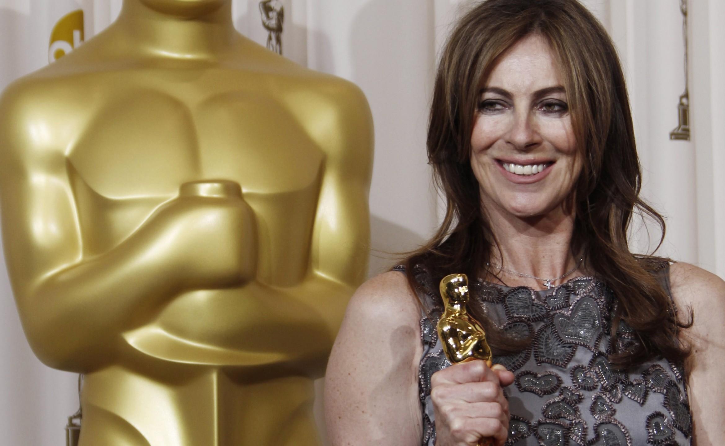 Kathryn Bigelow wint Oscar