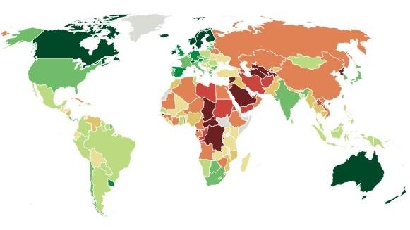 Democratieen op de wereld