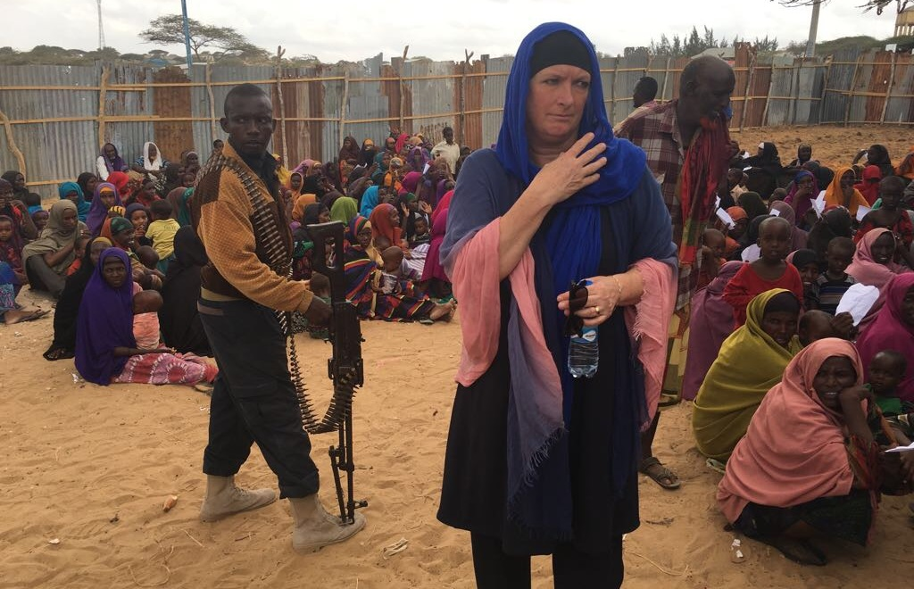 Tineke Ceelen in Somalië