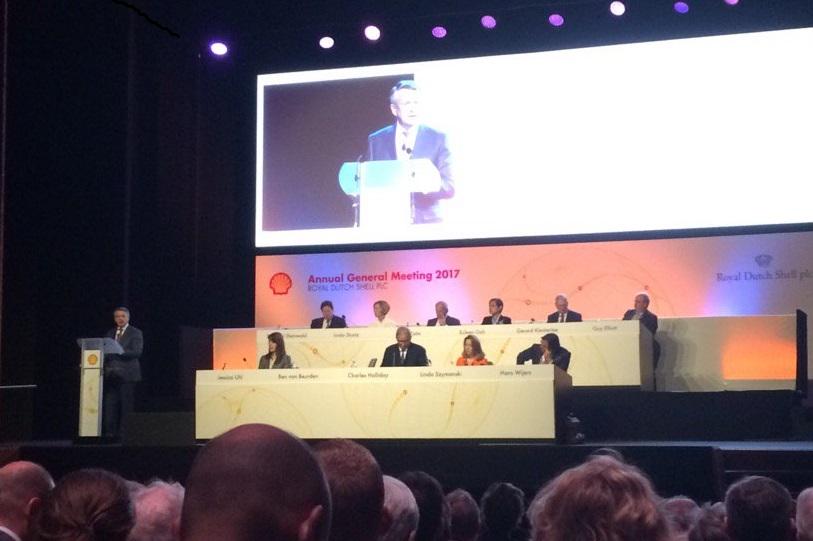 Shell aandeelhoudersvergadering
