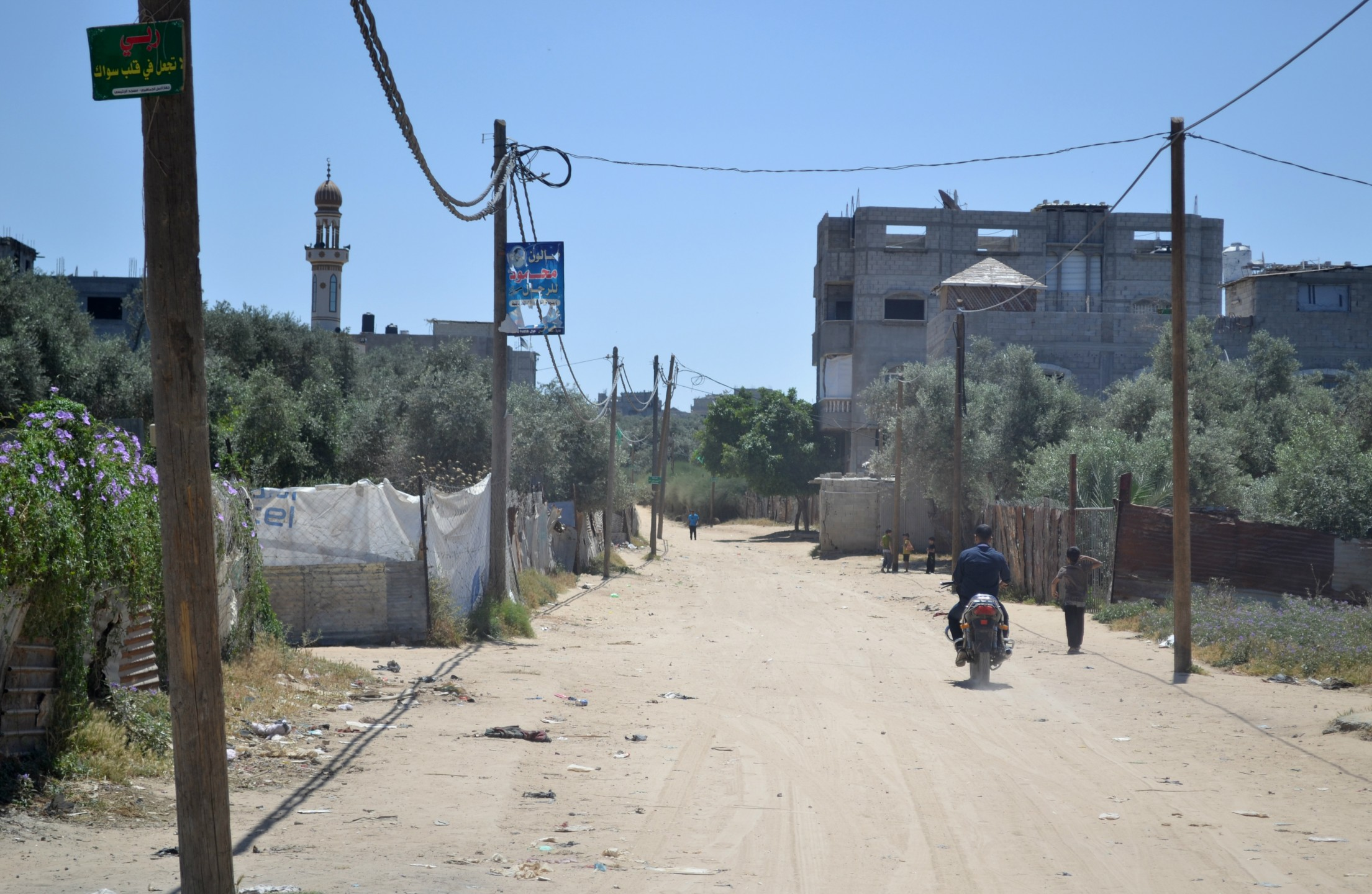 electriciteitstoevoer Gaza