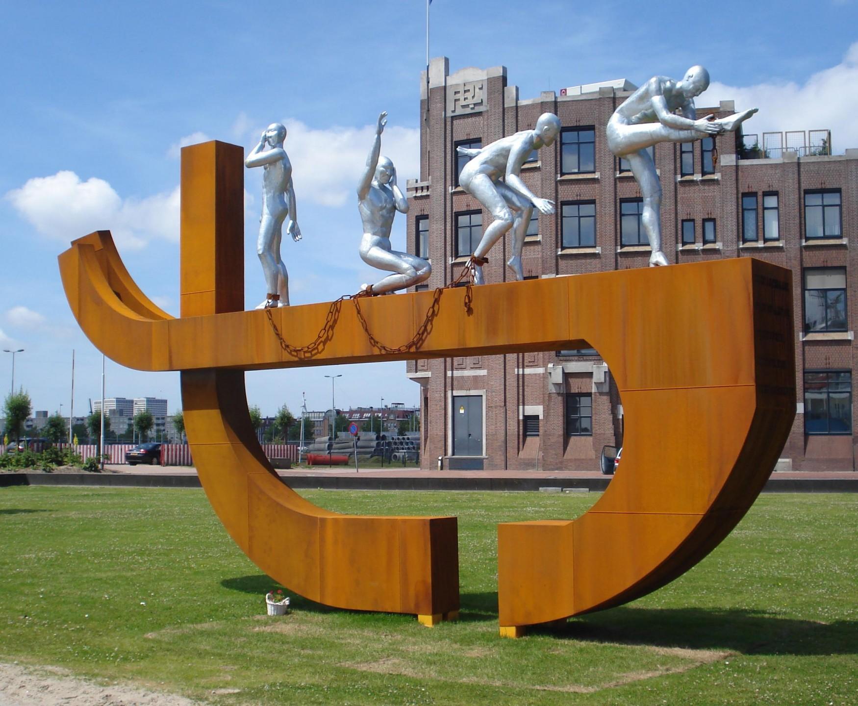 Slavernij monument Rotterdam