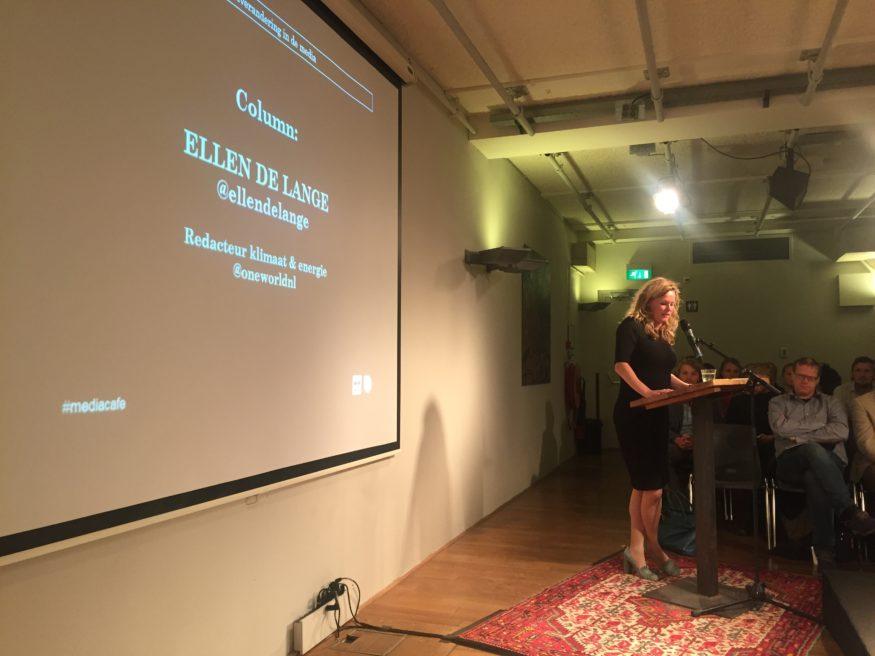 Column Ellen bij OneWorld Mediafae