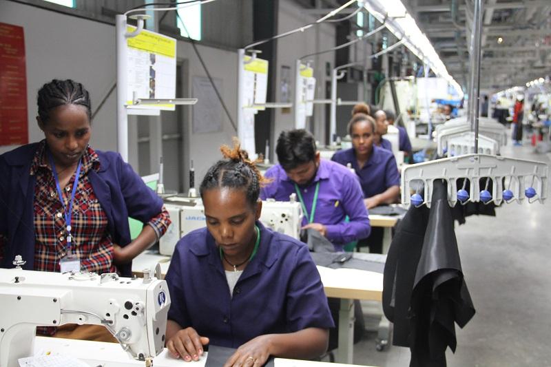 Kledingindustrie Ethiopië