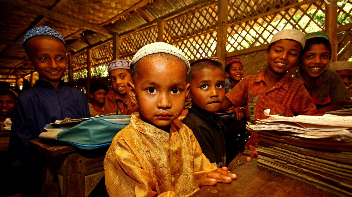 Rohingya kinderen in Bangladesh