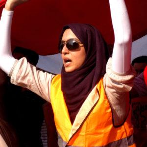 Protest in Egypte, foto: UN Women Arab States