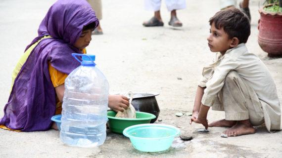 Overstroming Pakistan