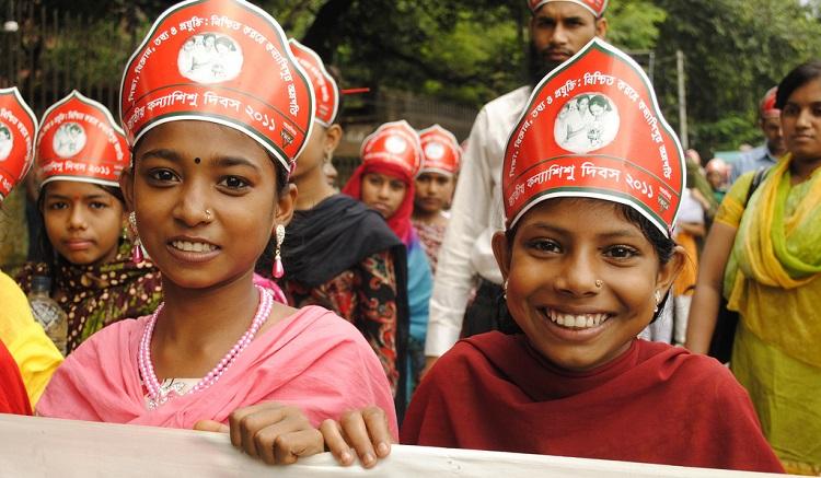 Bangladesh-Meisjesdag