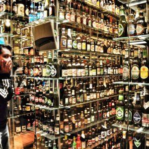 De overvloed aan alcohol.