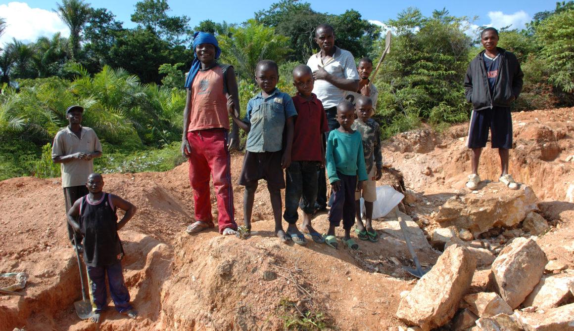 Child labor, Mining in Congo