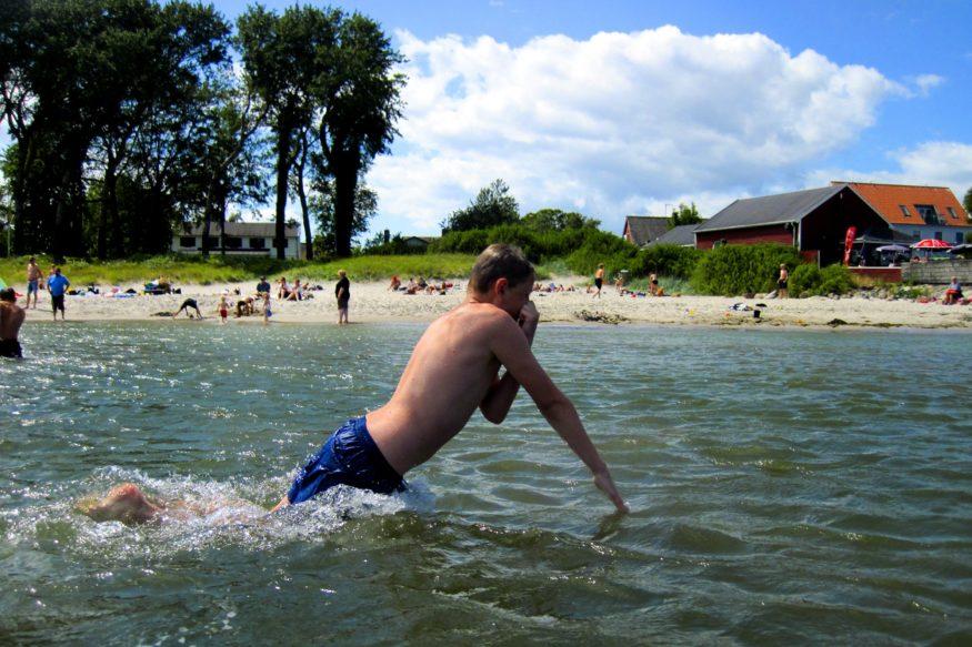 Samso-zwemmen1