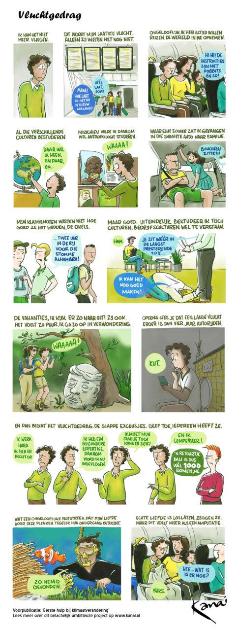 Kanai-Stripboek-klimaatverandering-Vluchtgedrag