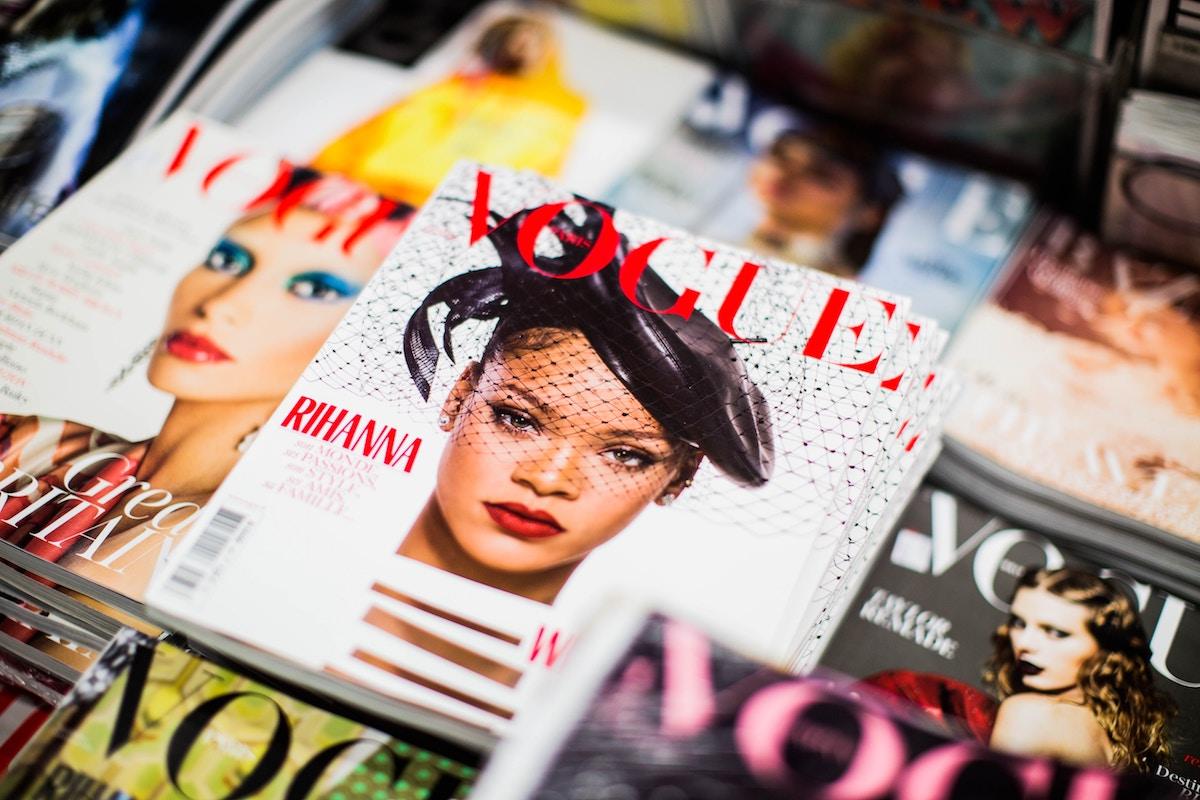 Covers Van Voque met o.a Rihanna als covermodel