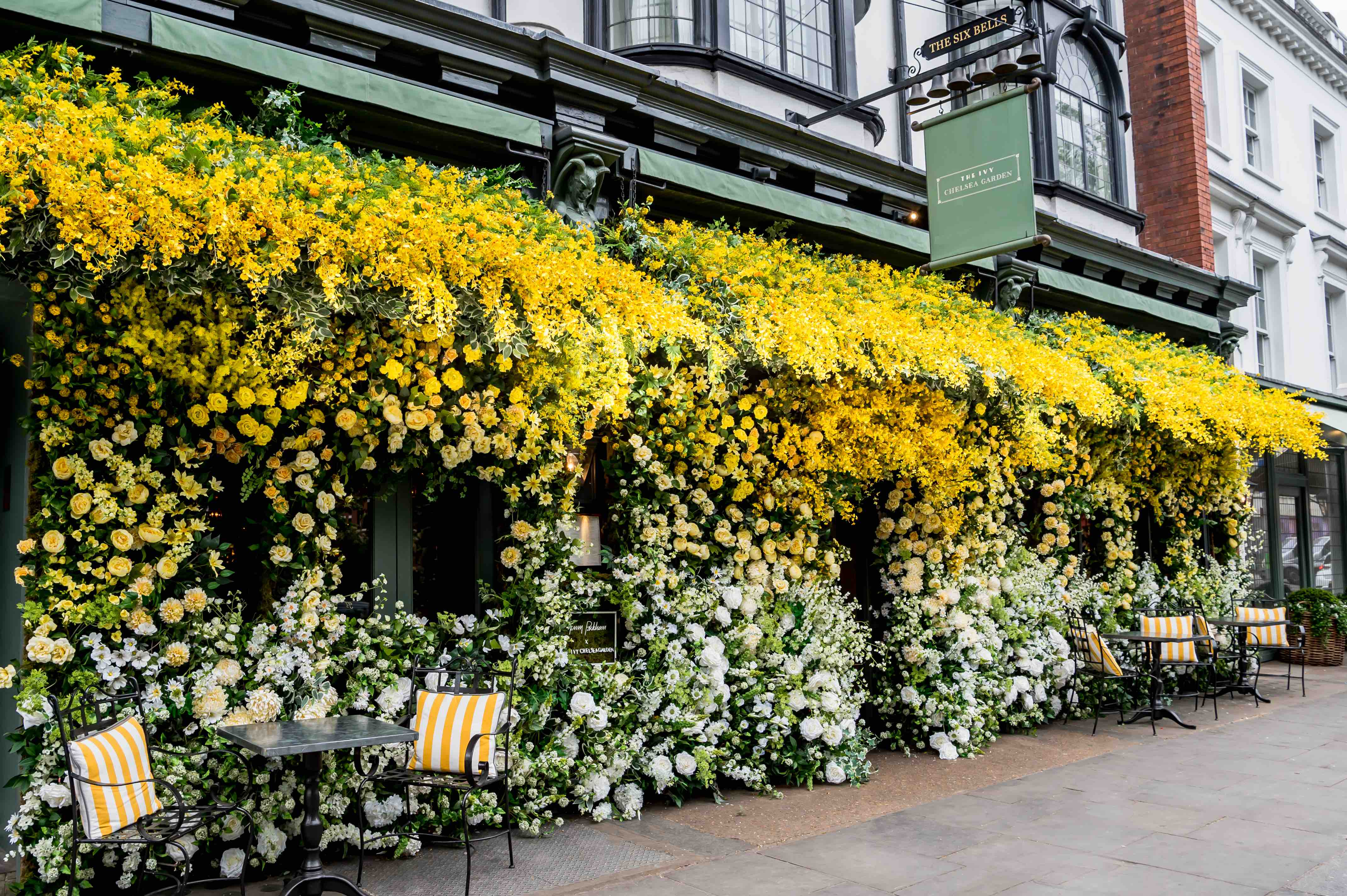 where to dine during the chelsea flower show - onin london