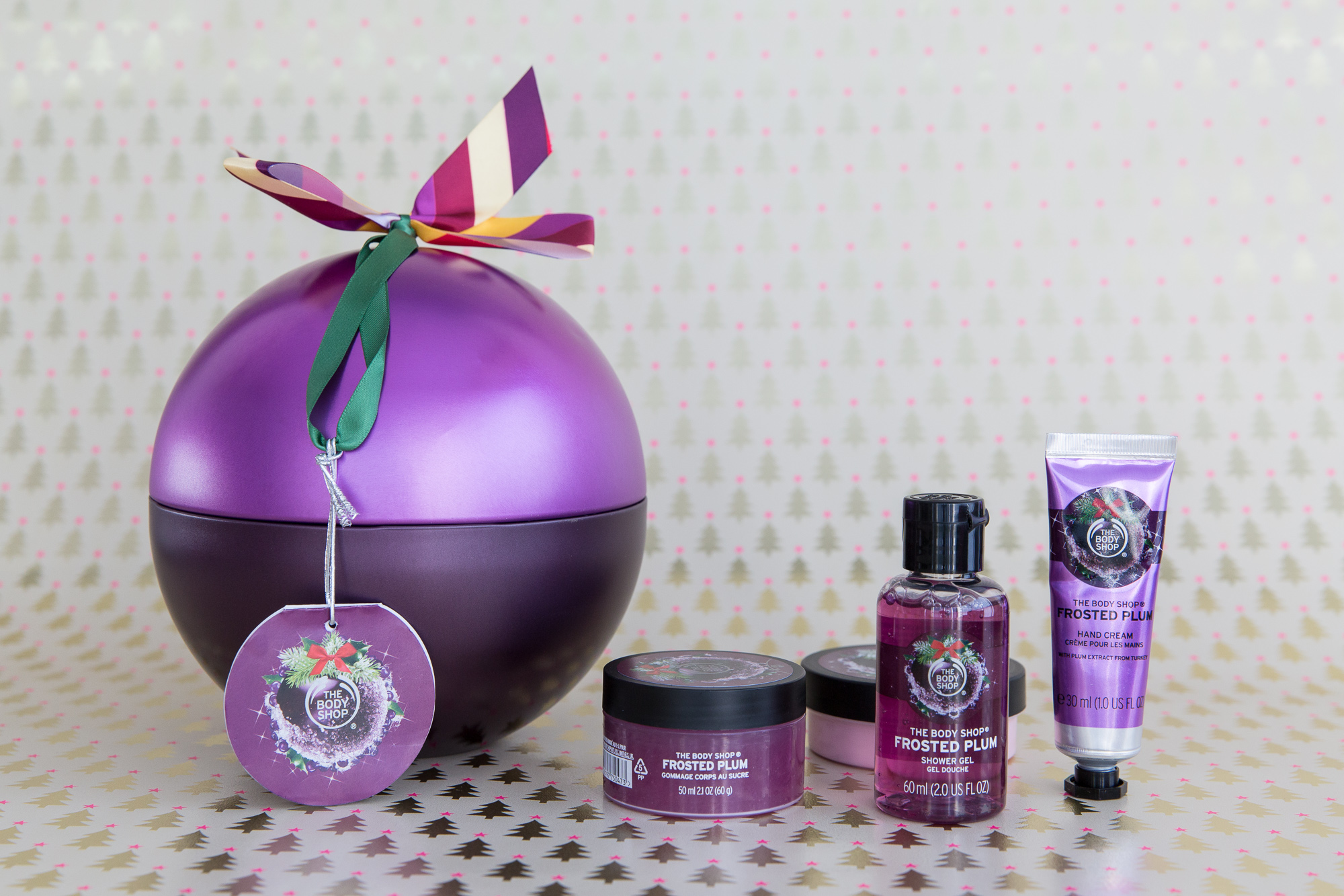 THE BODY SHOP Frosted Plum Hand Cream 30 ml Depop